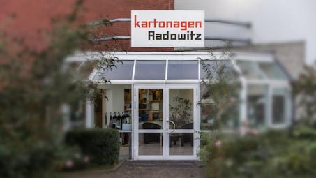 Haupteingang von Kartonagen Radowitz